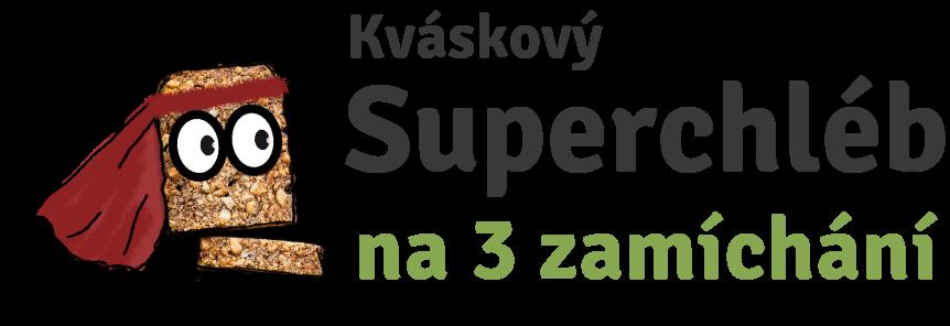 Kváskový superchléb na 3 zamíchání
