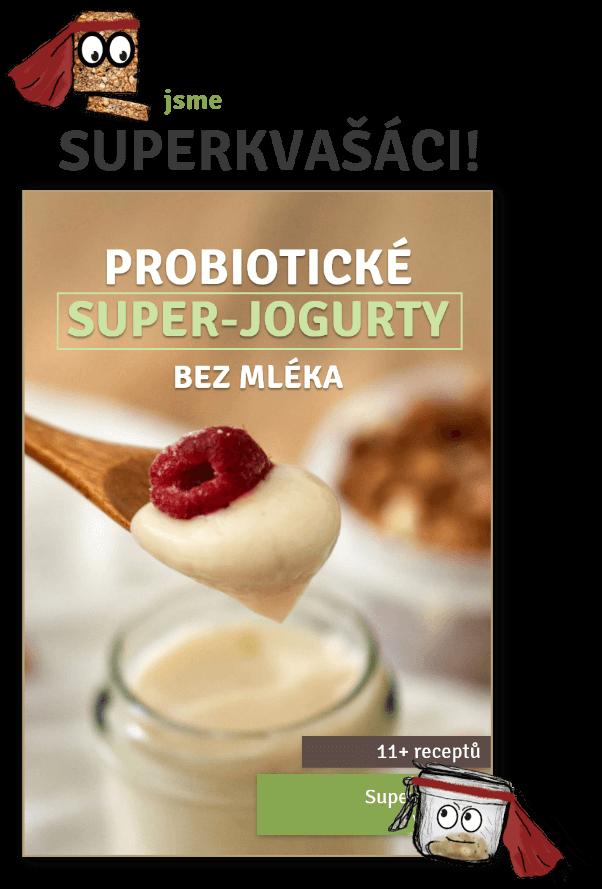 Superkvašáci: Probiotické super-jogurty bez mléka